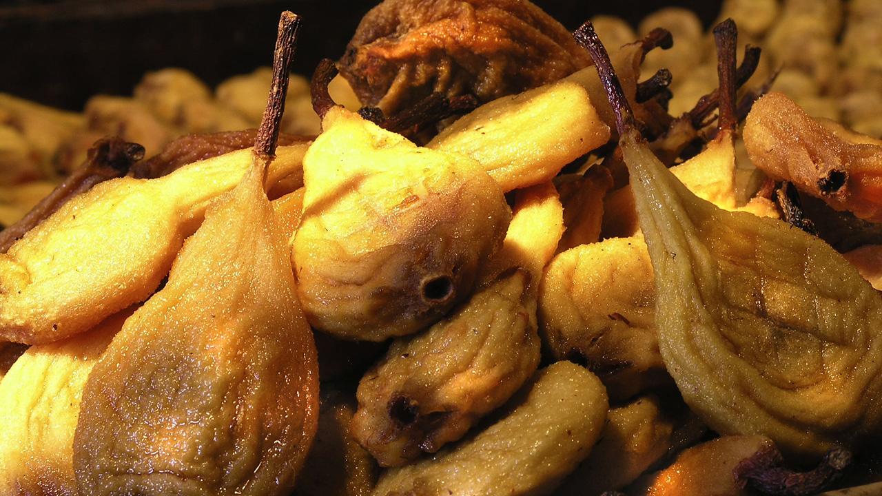 Les poires tapées de Rivarenne
