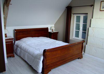 Chambre lit double du Gîte de l'Erault - 01