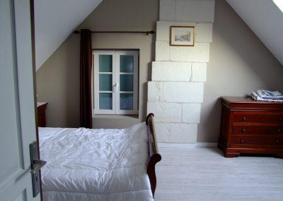 Chambre lit double du Gîte de l'Erault - 02